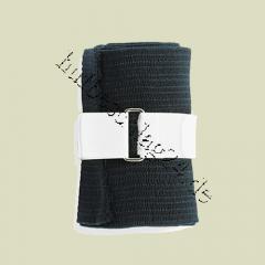 Velcro fastenings for bandages, black