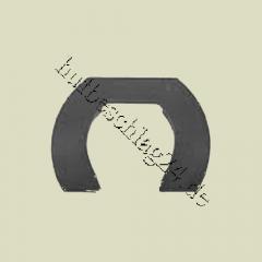 Dallmer Keilplatte mit Aussparung, Gr. 2, 130 mm