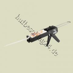 Pistole for MV-Silicones