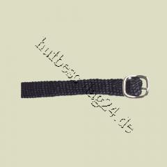 Woven spur straps black